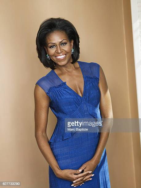 Hair by Johnny Wright and makeup by Carl Ray Dress by Tracy Reese and earrings by Ann Taylor