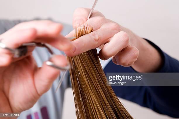 Coupe de cheveux coiffeur