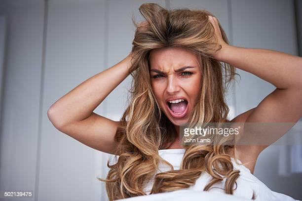 Hair distress
