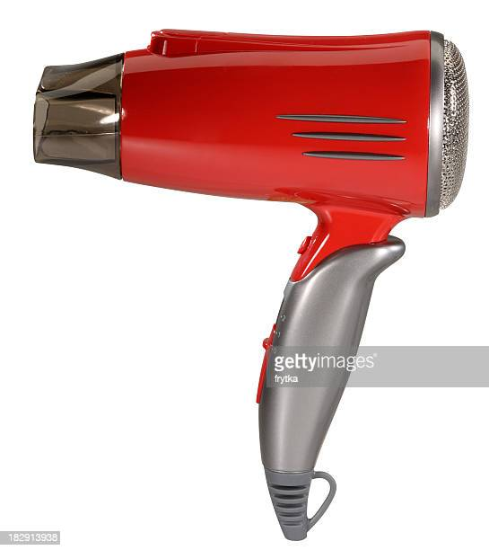 Hair dryer with clipping path