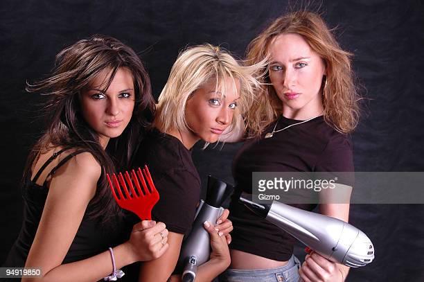 Hair dryers fun