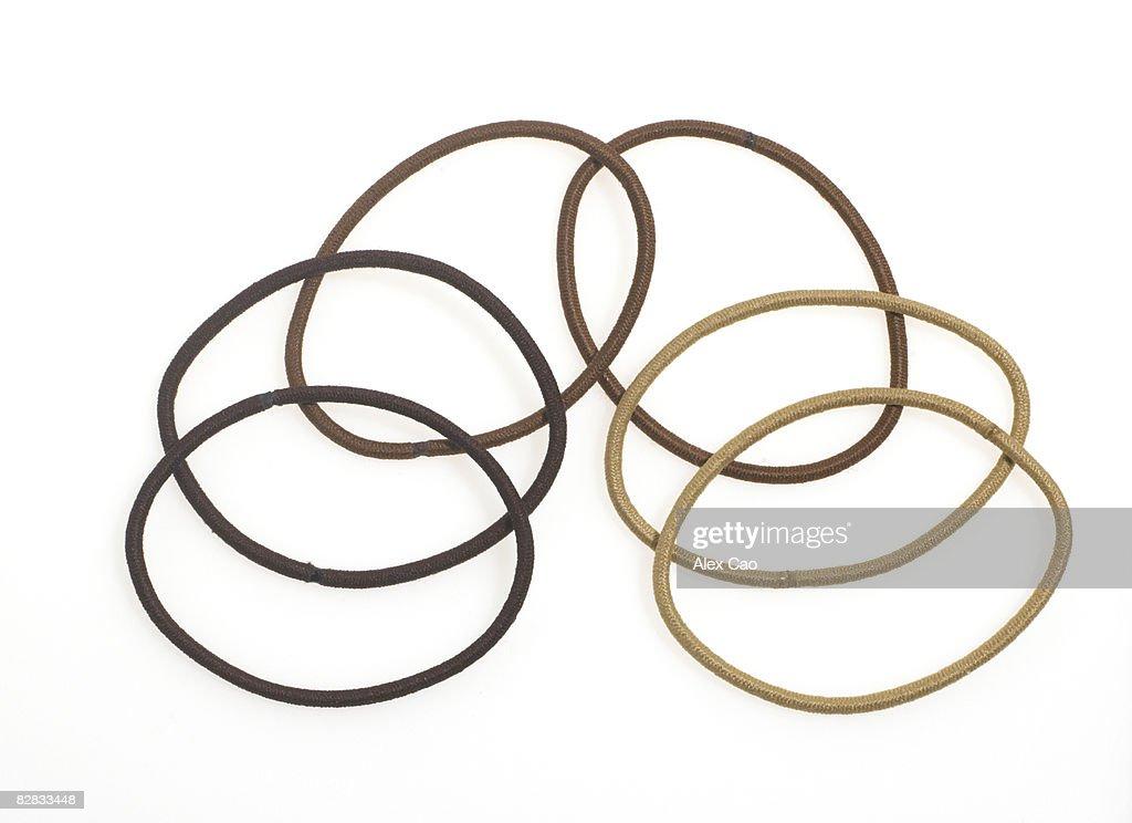Hair elastic : Stock Photo
