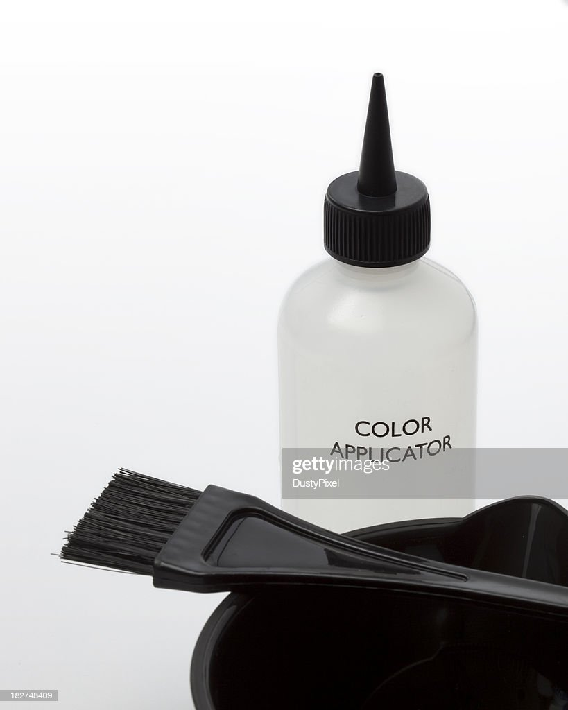Hair Highlighting And Color Application Tools Stock Photo Getty Images
