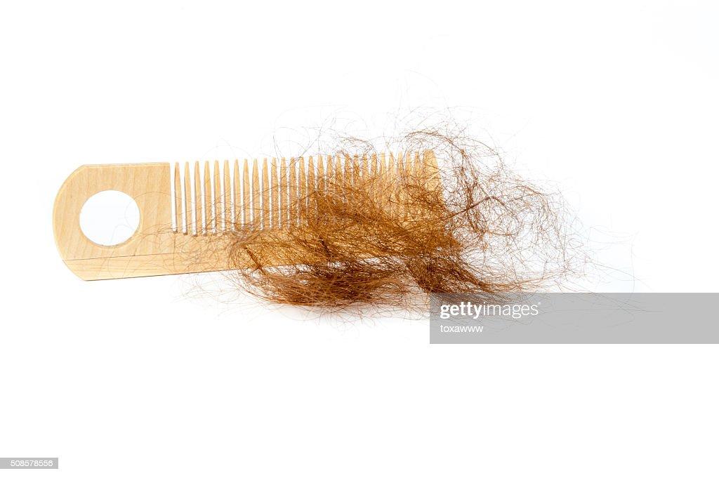 concept de perte de cheveux : Photo