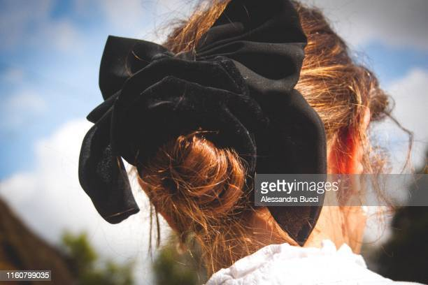 hair style - hair band stock pictures, royalty-free photos & images