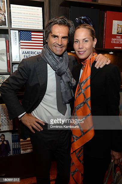 Hair stylist Julien Farel and Suelyn Farel attend ASSOULINE Martine and Prosper Assouline host a book signing for Ketty PucciSisti Maisonrouge's The...