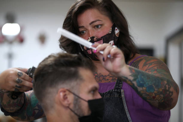 CA: Napa Hair Salon Reopens For Business