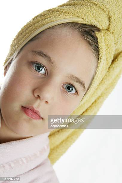 hair wash day - dry mouth stock photos and pictures