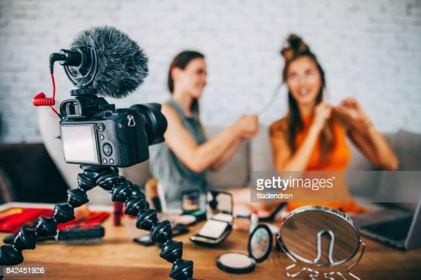 髪型ビデオブログ