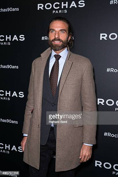 Hairdresser John Nollet attends the Rochas 90th Anniversary Cocktail as part of the Paris Fashion Week Womenswear Spring/Summer 2016 on September 30...