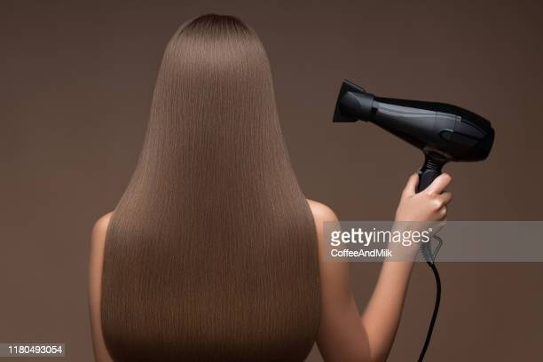 hairdresser metaphor - straight hair stock pictures, royalty-free photos & images
