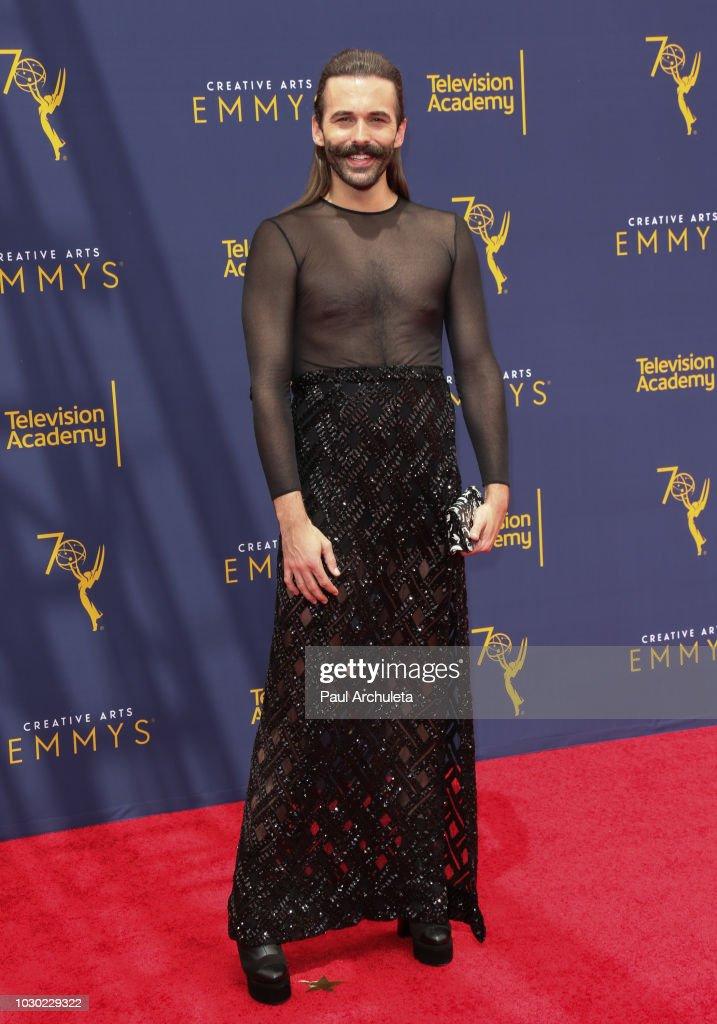 2018 Creative Arts Emmy Awards - Day 2 - Arrivals : News Photo