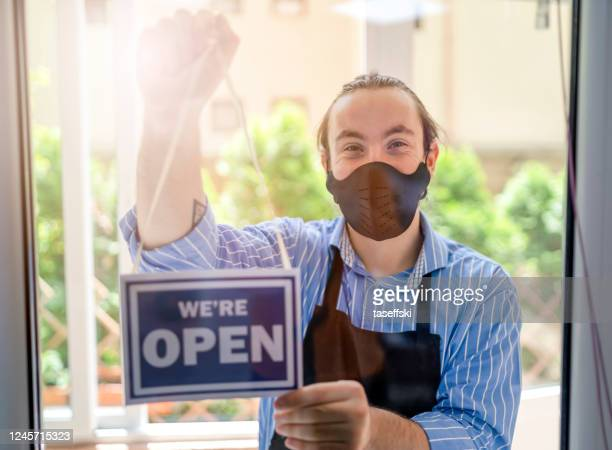 hairdressers  during covid-19 - reopening stock pictures, royalty-free photos & images