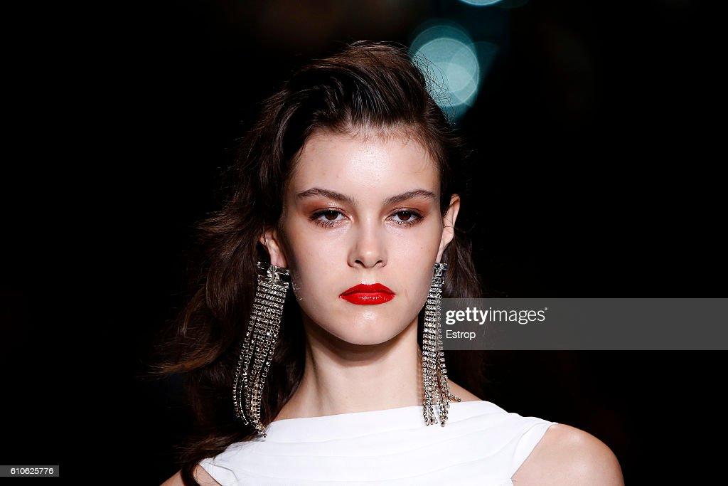 Elisabetta Franchi - Details - Milan Fashion Week SS17 : News Photo