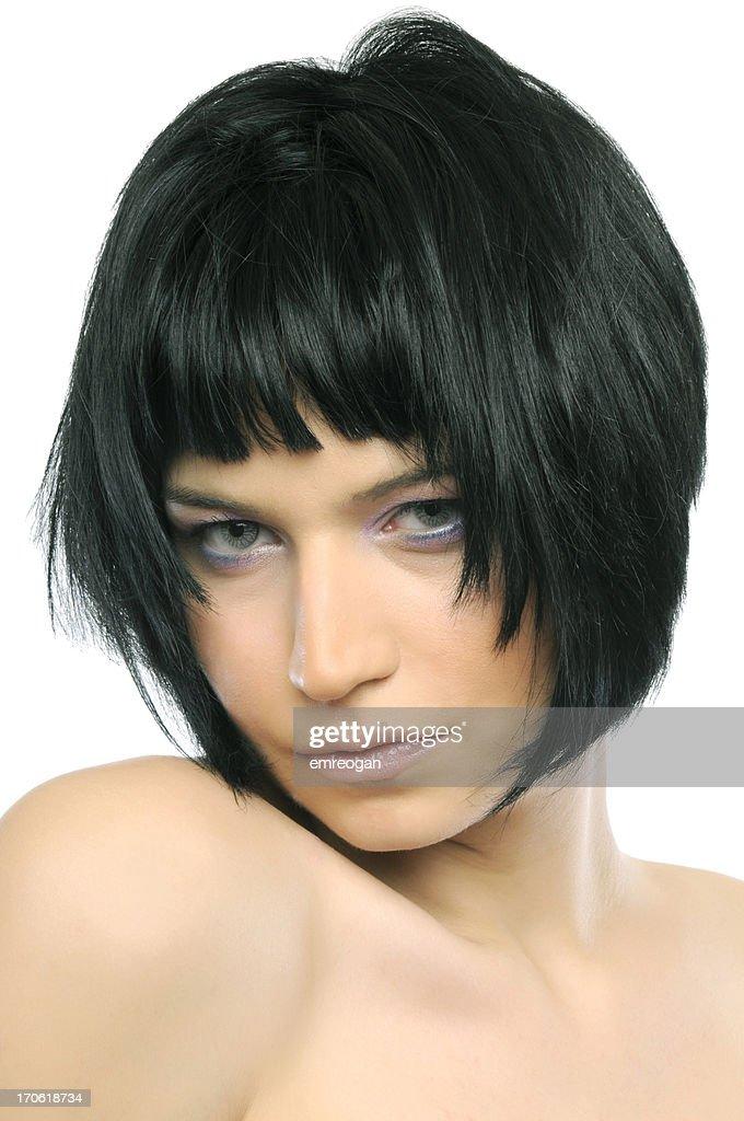 Hairstyle : Stock Photo