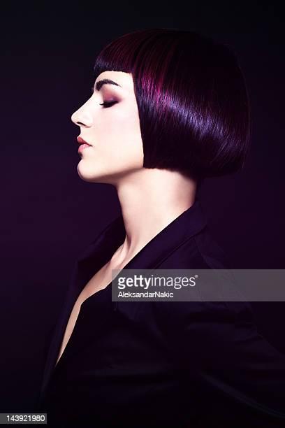 Haarschnitt, Porträt