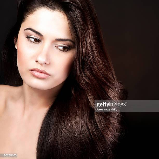 Hairstyle portrait