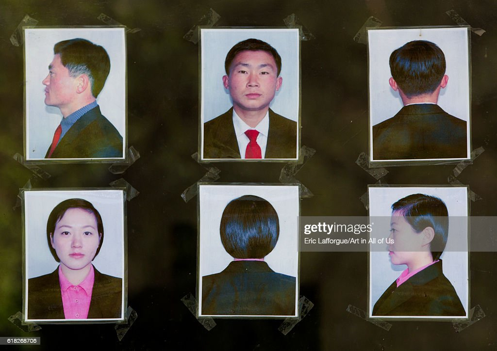 Hairstyle rule in the agriculture university, Hamhung, North korea : News Photo