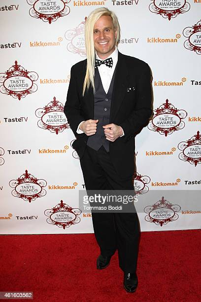 Hairstylist Daniel DiCriscio attends the 2015 Taste Awards held at the Egyptian Theatre on January 15 2015 in Hollywood California