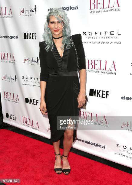Hairstylist Jenny Strebe attends the BELLA Los Angeles Summer Issue Cover Launch Party at Sofitel Los Angeles At Beverly Hills on June 23 2017 in Los...