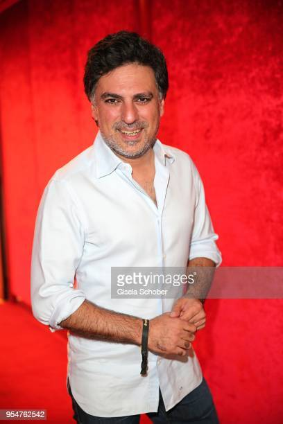 Hairstylist Shan Rahimkan during the Grand Opening of Roomers Spa by Shan Rahimkhan on May 4, 2018 in Munich, Germany.
