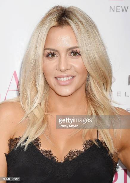 Hairstylist Silvia Reis attends the BELLA Los Angeles Summer Issue Cover Launch Party at Sofitel Los Angeles At Beverly Hills on June 23 2017 in Los...