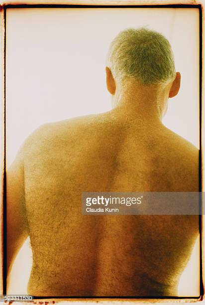 Hairy Back of Man