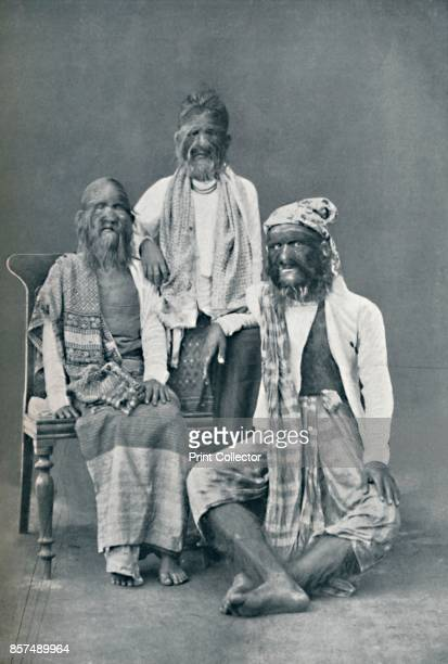 A hairy family of Mandalay Burma 1902From The Living Races of Mankind Vol I [Hutchinson Co London 1902] Artist Bourne Shepherd
