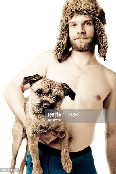 hairy - hairy man chest stock photos and pictures