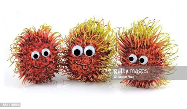 Hairy rambutans