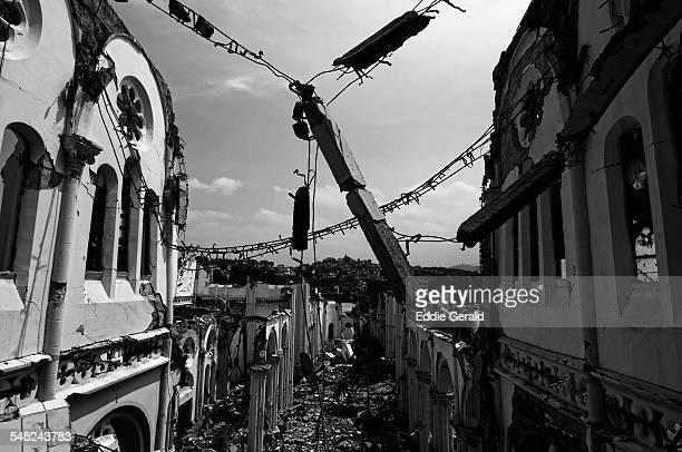haiti earthquake aftermath - haiti stock-fotos und bilder