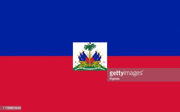 haiti flag - haiti stock-fotos und bilder