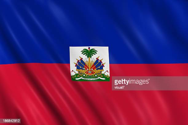 haiti flag - haitian flag stock pictures, royalty-free photos & images