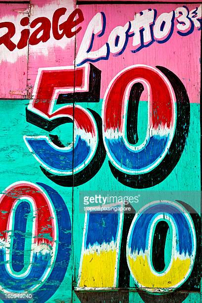 haiti, nord-ouest, st louis du nord, lottery kiosque. - haiti stock pictures, royalty-free photos & images