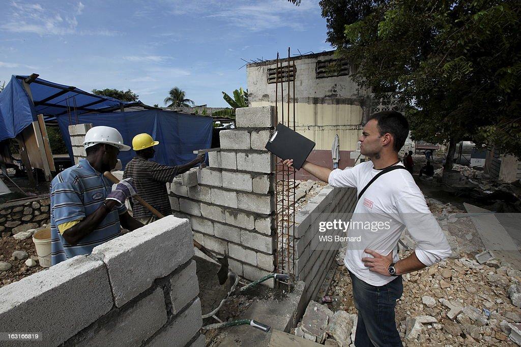 Haiti One Year After The Earthquake: The School Carius Lherisson In Port-Au-Prince : News Photo