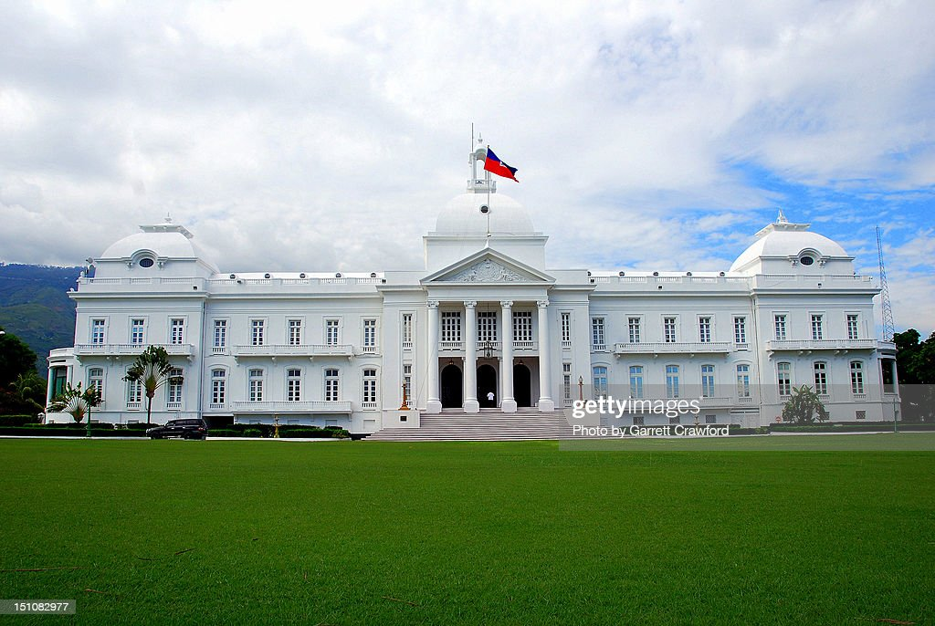 Haiti Presidential Palace (Before 2009 Earthquake) : Stock Photo