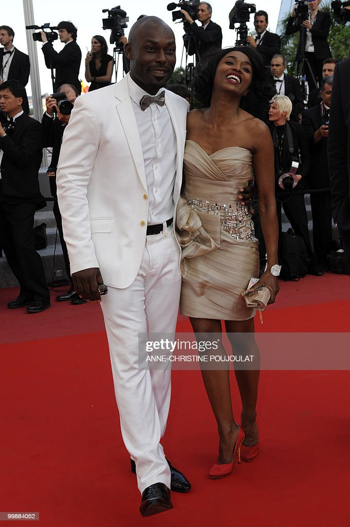 Haitian actor Jimmy Jean-Louis and Evely : News Photo
