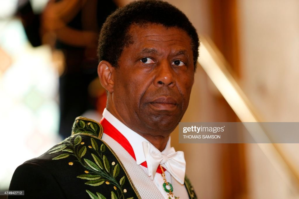 Haitian Canadian writer Dany Laferriere wearing his Academician suit ...