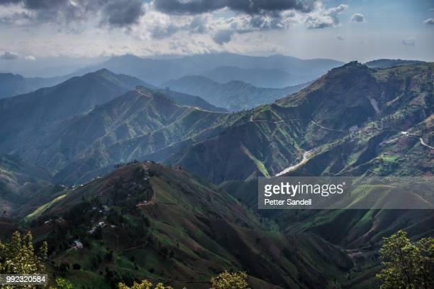 haitian landscapes 8: kenscoff - paisajes de haiti fotografías e imágenes de stock