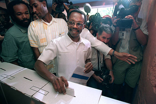 HTI: 16th December 1990 - Jean-Bertrand Aristide Elected As President Of Haiti