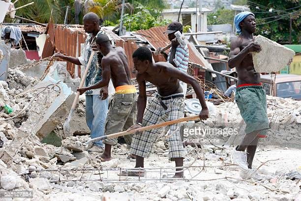 Haitian reconstruction after the 2010 earthquake