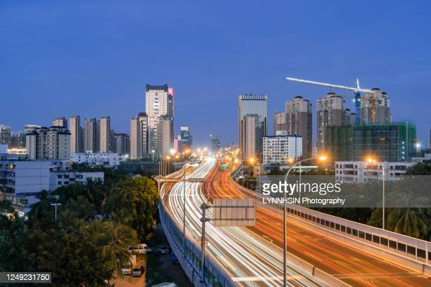 haixiu expressway - lynnhsin stock pictures, royalty-free photos & images