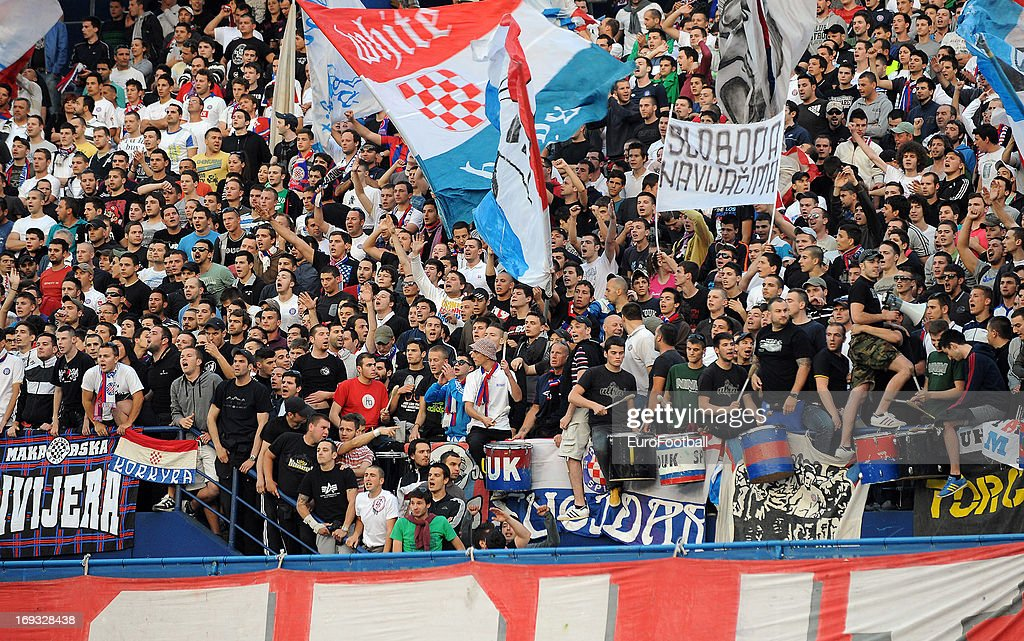NK Lokomotiva Zagreb v HNK Hajduk Split - Croatian Cup Final Second Leg : News Photo
