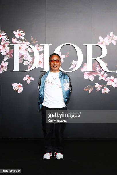 Hajime Sorayama attends the photocall at the Dior Pre Fall 2019 Men's Collection on November 30, 2018 in Tokyo, Japan.