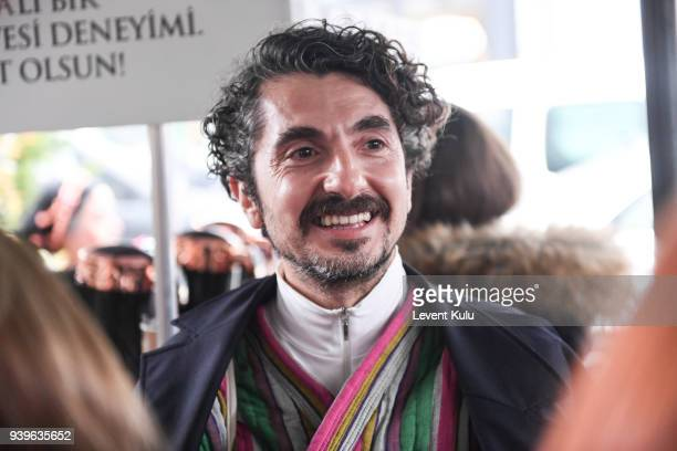 Hakan Bahar attends the Asli Filinta show during Mercedes Benz Fashion Week Istanbul at on March 29 2018 in Istanbul Turkey