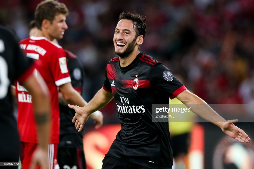 FC Bayern v AC Milan - 2017 International Champions Cup China : News Photo