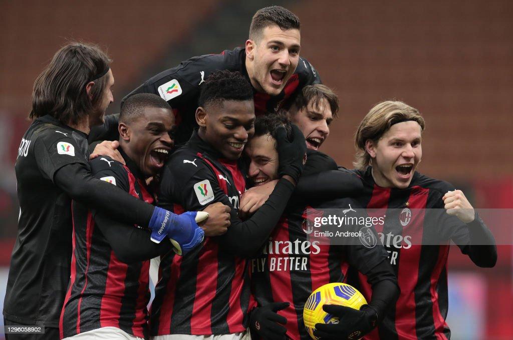 AC Milan v Torino FC - Coppa Italia : News Photo