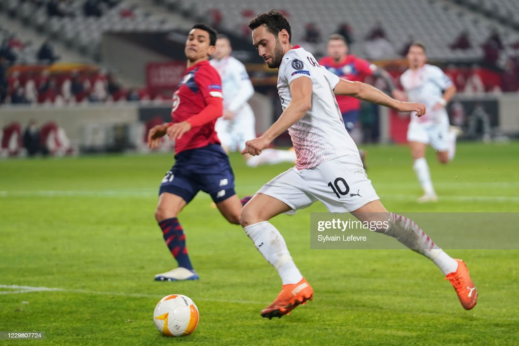 LOSC Lille v AC Milan: Group H - UEFA Europa League : News Photo