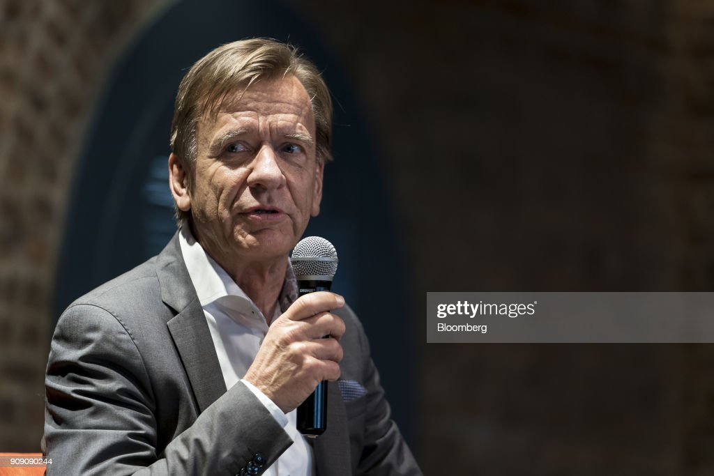 Volvo Cars NV CEO And President Hakan Samuelsson Speaks At An Event