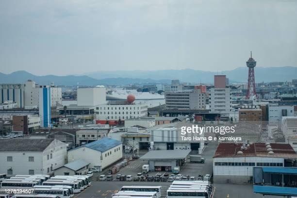 hakata bay in fukuoka city of japan - %e... ストックフォトと画像